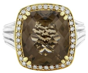 Charles Krypell Charles,Krypell,3-6211-sstd,14k,Gold,925,Silver,Quartz,0.35,Ct,Diamond,Ring