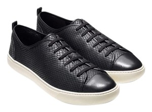 Cole Haan Sneakers Leather Athleisure Black Athletic