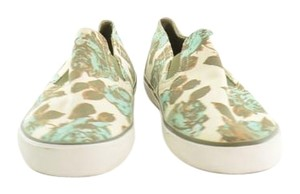 Tory Burch Sneakers Athletics Floral Slip On Sneakers Ivory and multi Flats