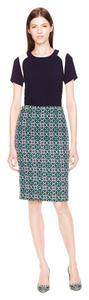 J.Crew No. 2 Pencil Skirt Navy Blue, Green, Light Pink
