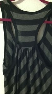blk/gray Maxi Dress by M usa