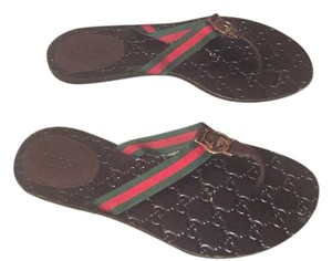 Gucci Brown Sandals