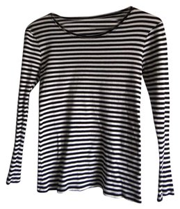 Daisy Fuentes T Shirt Black & White