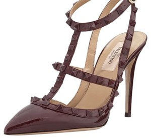 Valentino Wine Pumps