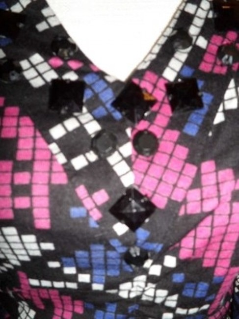 2b bebe Top Black/Pink/blue