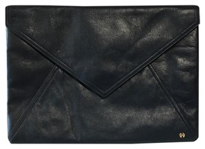 Halston Navy Blue Clutch