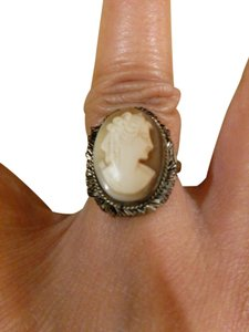 Other antique cameo 800 ring