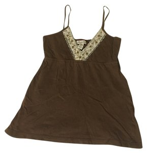 Aropostale Beaded Fancy Top Brown