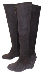 Tory Burch Designer Suede brown Boots