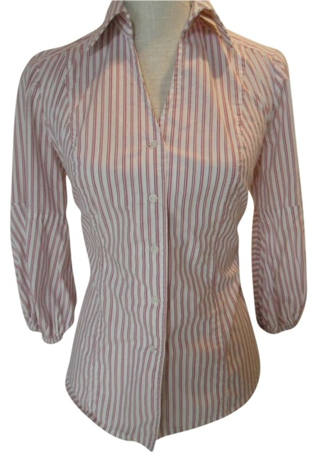 Preload https://item2.tradesy.com/images/nine-west-white-with-pinkburgundy-stripe-blouse-size-4-s-200246-0-0.jpg?width=400&height=650