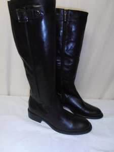 Aquatalia by Marvin K. Designer Knee High Riding New Without Box black Boots
