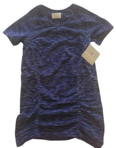 Athleta Athleta Ruched Dri-Fit Tee in Navy