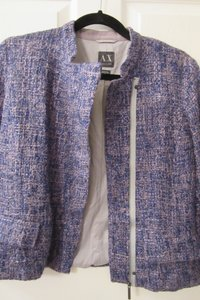 A|X Armani Exchange Blue Blazer