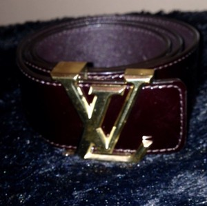 Louis Vuitton Vernis LV Belt