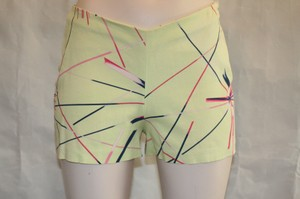 Versace Hot Slim Mini/Short Shorts LIME GREEN, PINK, NAVY