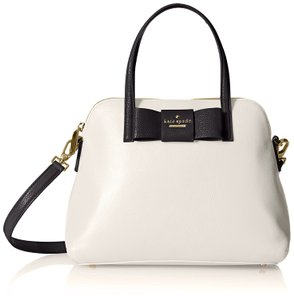 Kate Spade New York Satchel in Light Canvas / Black
