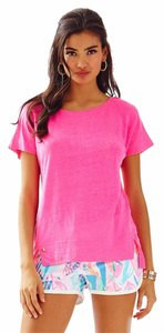 Lilly Pulitzer Linen Top Pink