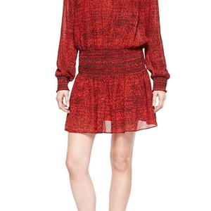 MICHAEL Michael Kors short dress Red and Black on Tradesy