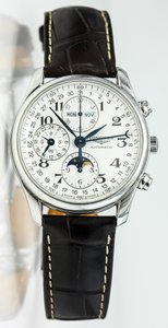 Longines * MASTER COLLECTION 42MM CHRONOGRAPH WITH MOON PHASE