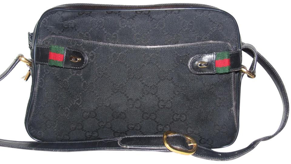 a0fc92c56f4324 Gucci Very Clean Lining Excellent Vintage Great For Everyday Rare G.a.c.  Stye Multiple Compartment Shoulder Bag ...