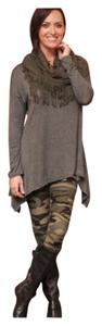 Fall Winter Soft High Quality Camouflage Leggings