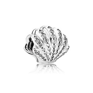 PANDORA Authentic PANDORA Disney Ariel's Shell Charm