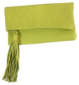 GiGi New York Neon Yellow Clutch