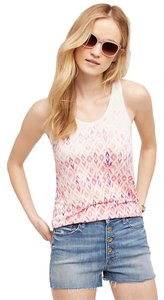 Anthropologie Casual Resort Top Pink