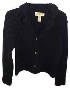 Jones New York Cardigan Chunky Ribbed Knit Sweater