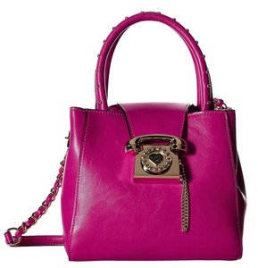 Betsey Johnson Fuschia You Tote in Pink