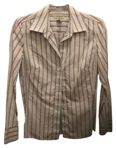Banana Republic Button Down Shirt Multi- stripe