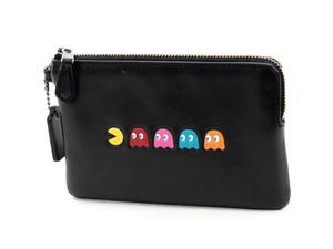Coach Pac Man Limited Edition Wristlet in Black