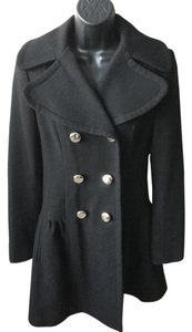 Jessica Simpson Wool Dress Sexy Femanine Trench Coat