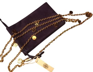 Tory Burch Charm Rosary Necklace