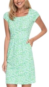 J.McLaughlin short dress Green, White, Purple on Tradesy