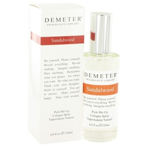 Demeter Fragrance Library Sandalwood by DEMETER ~ Cologne Spray 4 oz