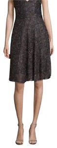 Badgley Mischka Fit And Flare Cocktail Dress