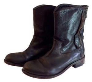 Barneys Co-Op Leather Brown Boots