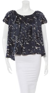 Ulla Johnson Top Black/White