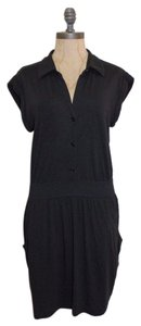 Theory short dress BLACK Modal Soft on Tradesy