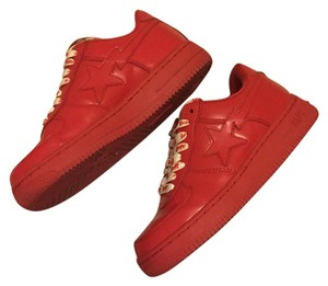 Bathing Ape Red Athletic