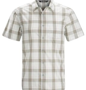 Arc'teryx Button Down Shirt Grey Plaid