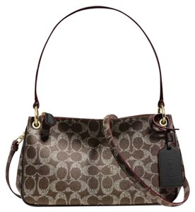 Coach Charley Signature Cross Body Bag