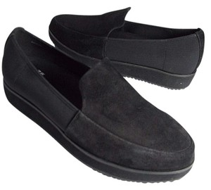 Eileen Fisher 'dell' Suede Slip Ons black Pumps