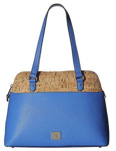Ralph Lauren Lighthouse Cork Hanway Dome Sarchel Tote in Blue