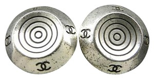 Chanel CC Spiral Earrings 211132