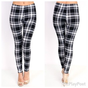 The Envy Collections Black and White Leggings