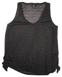 Mossimo Supply Co. Loose Oversized Top Black