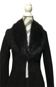 Wilsons Leather Suede Faux Fur Guess Fur Coat