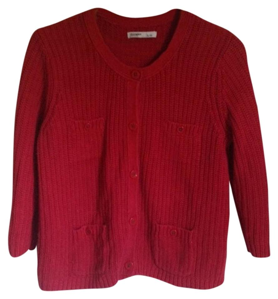 Old Navy Red Green Buttons Christmas Cardigan Size 14 (L) - Tradesy
